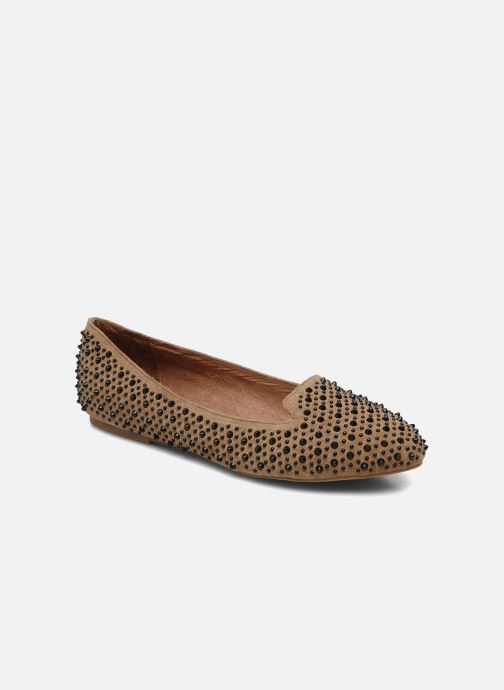 Loafers Jeffrey Campbell Martini SP Beige detailed view/ Pair view