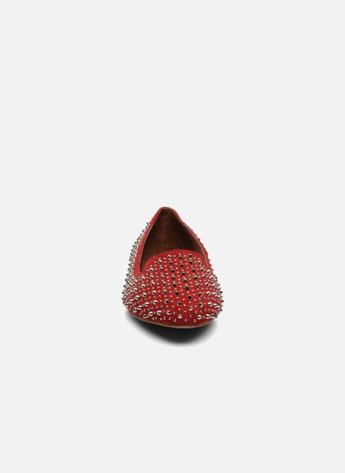 Loafers Jeffrey Campbell Martini SP Red model view