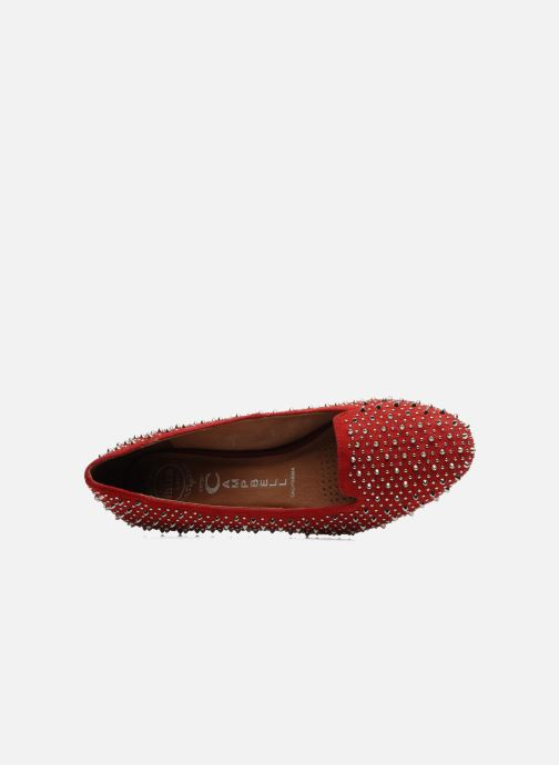 Loafers Jeffrey Campbell Martini SP Red view from the left