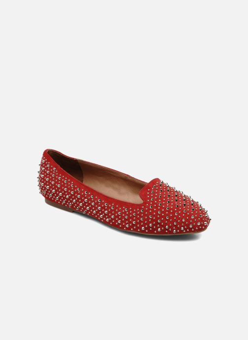 Loafers Jeffrey Campbell Martini SP Red detailed view/ Pair view