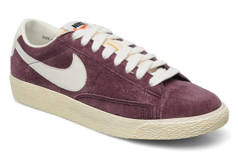 competitive price 4e14b 37da4 ... low price trainers nike blazer low prm vintage suede purple detailed  view pair view 0a87e 8e379