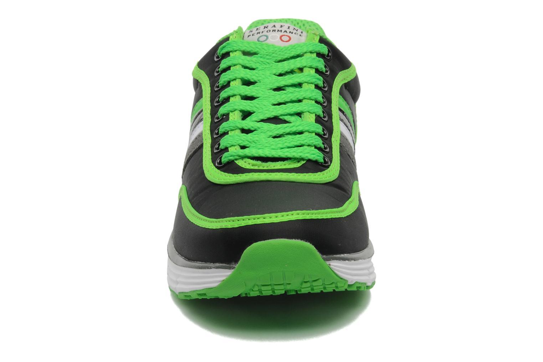 Baskets Serafini Neon 740 Noir vue portées chaussures