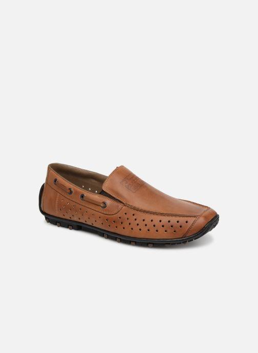 Loafers Rieker Garrit 08969 Brun detaljeret billede af skoene