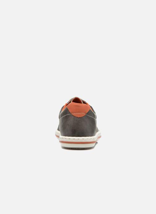 Sneakers Rieker Sid 19013 Grigio immagine destra