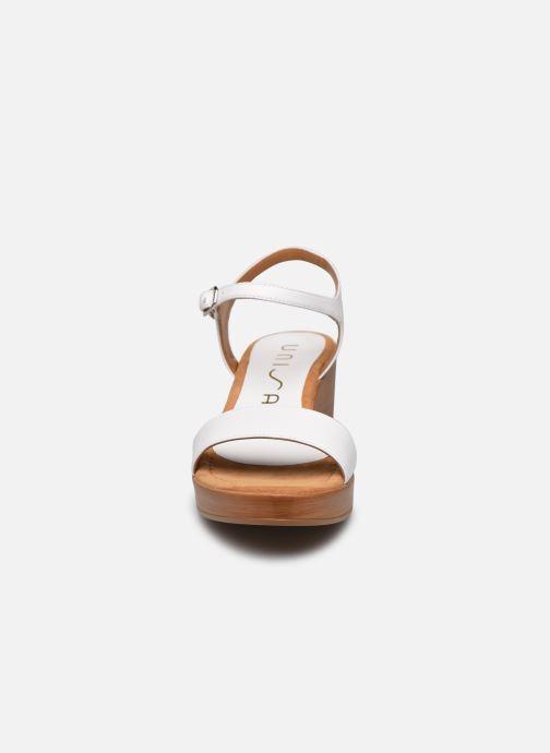 Sandales et nu-pieds Unisa Irita Blanc vue portées chaussures