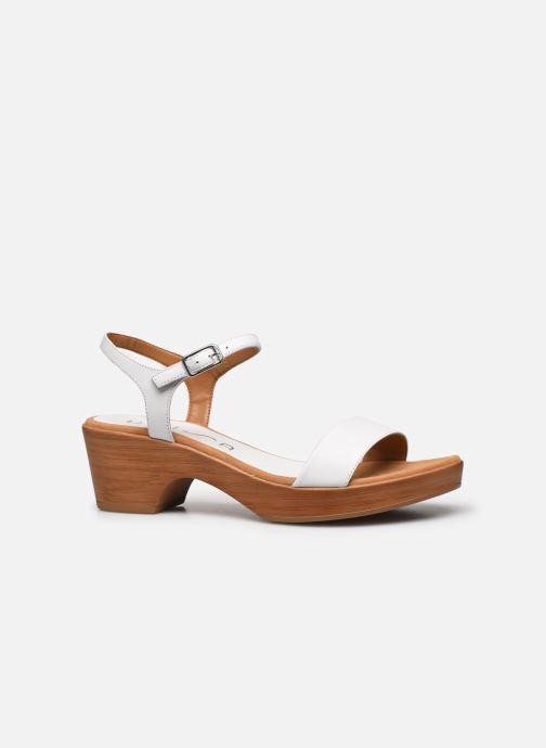 Sandales et nu-pieds Unisa Irita Blanc vue derrière