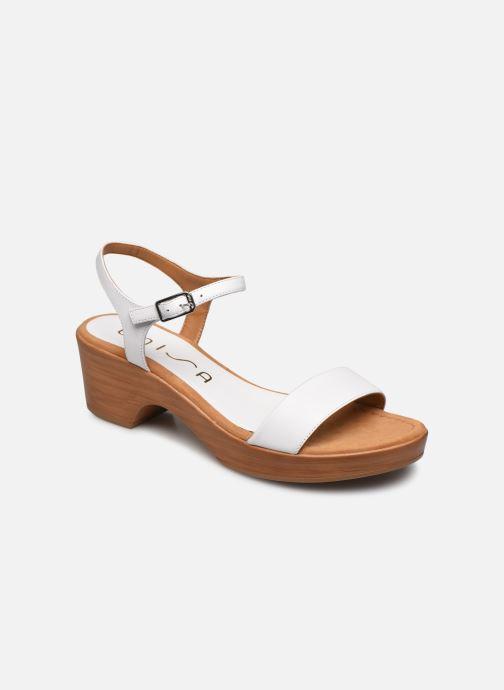 Sandales et nu-pieds Unisa Irita Blanc vue détail/paire