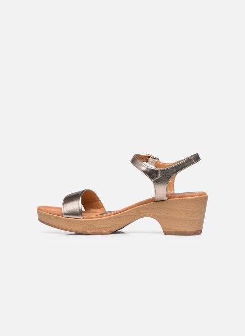 Sandales et nu-pieds Unisa Irita Noir vue face