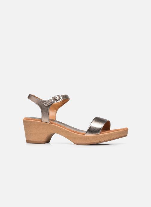 Sandales et nu-pieds Unisa Irita Noir vue derrière