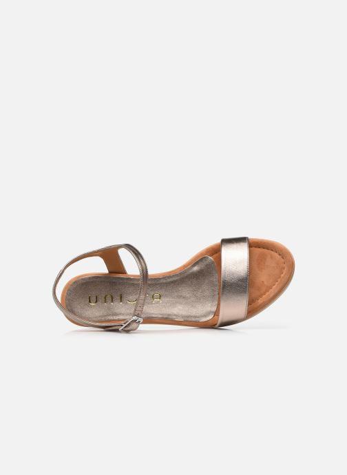 Sandales et nu-pieds Unisa Irita Noir vue gauche