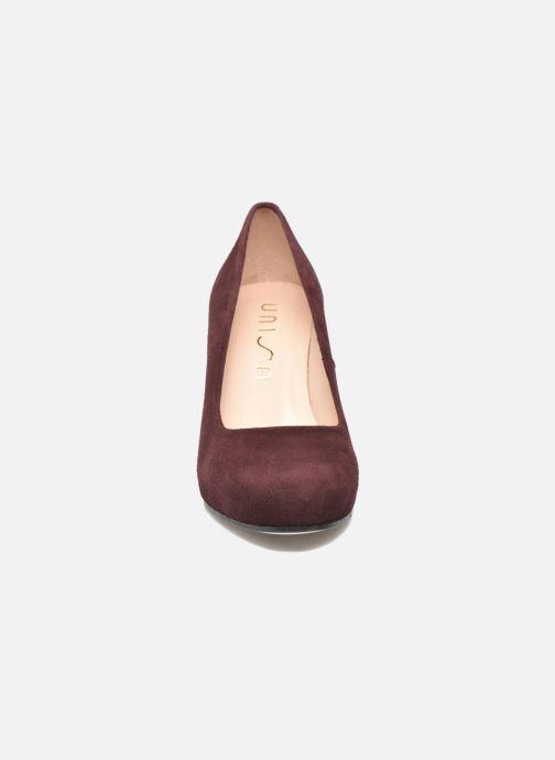 Escarpins Unisa Numis Rouge vue portées chaussures
