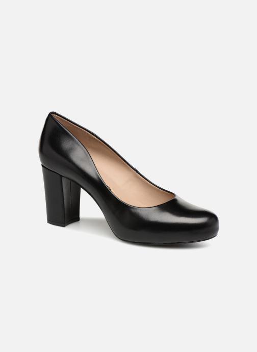 f1387c98f7f3 Høje hæle Unisa Numis Sort detaljeret billede af skoene