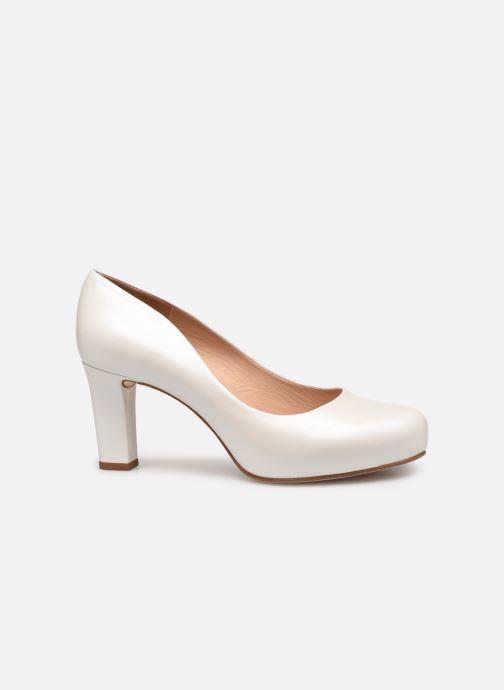 Zapatos de tacón Unisa Numis Blanco vistra trasera