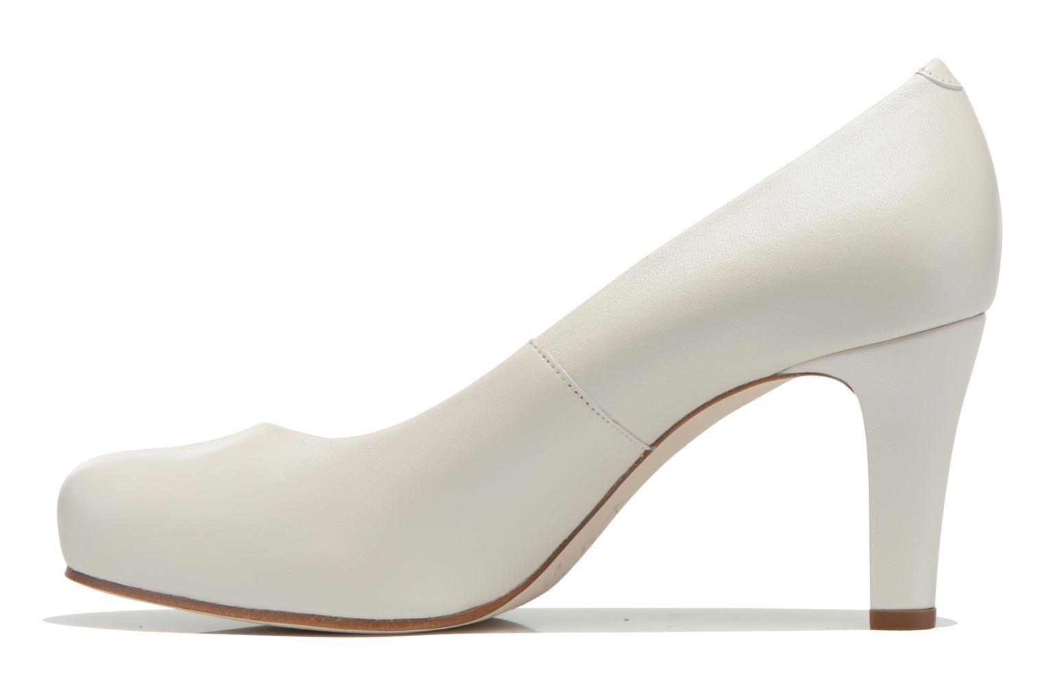 High heels Unisa Numis White front view