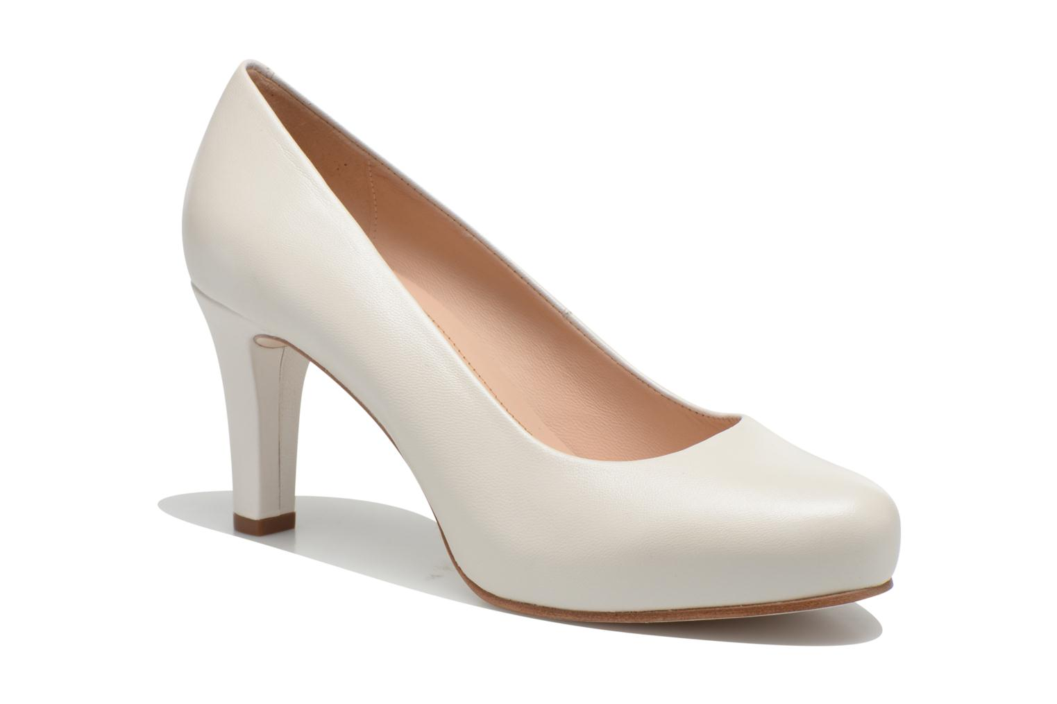 High heels Unisa Numis White detailed view/ Pair view