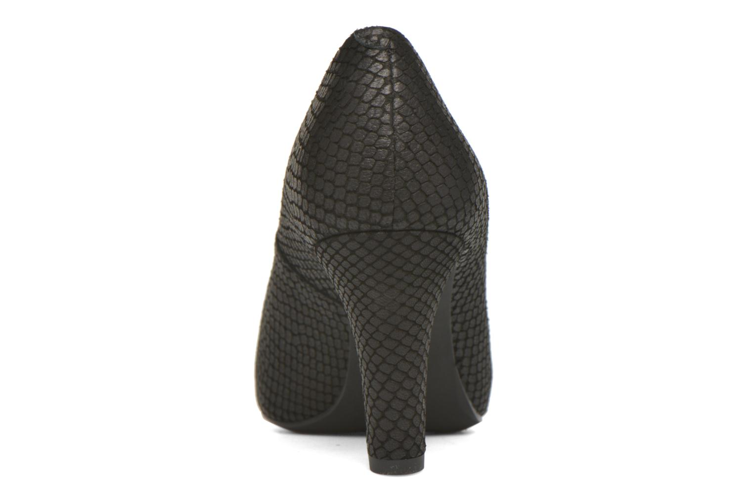 High heels Unisa Numis Black view from the right