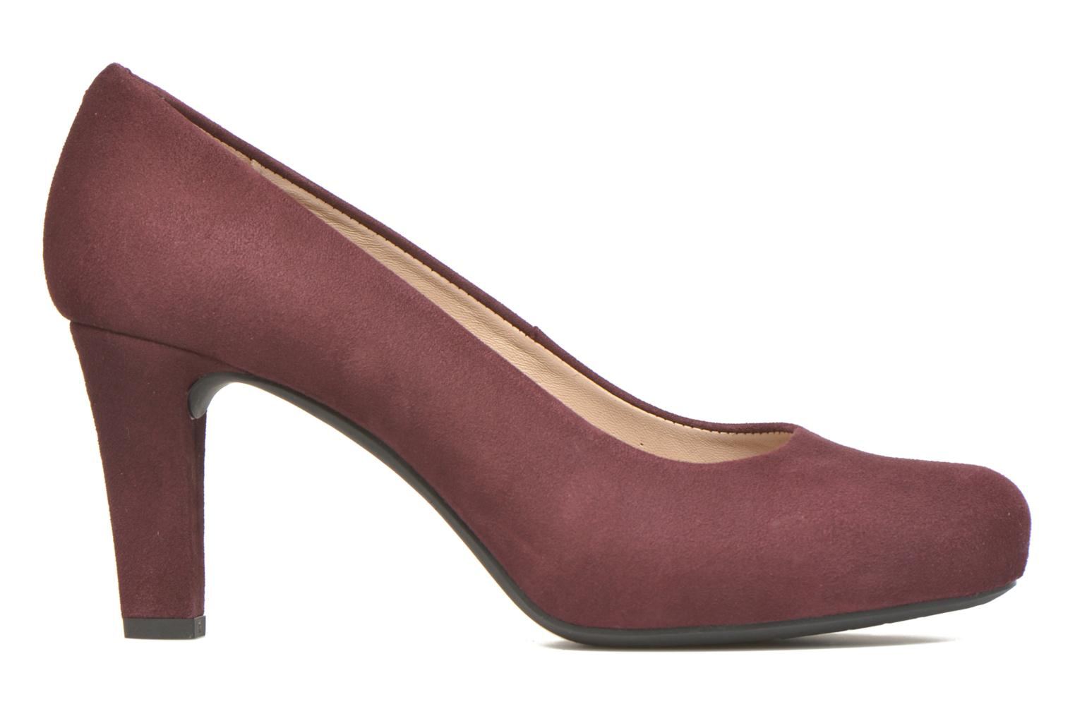 High heels Unisa Numis Burgundy back view