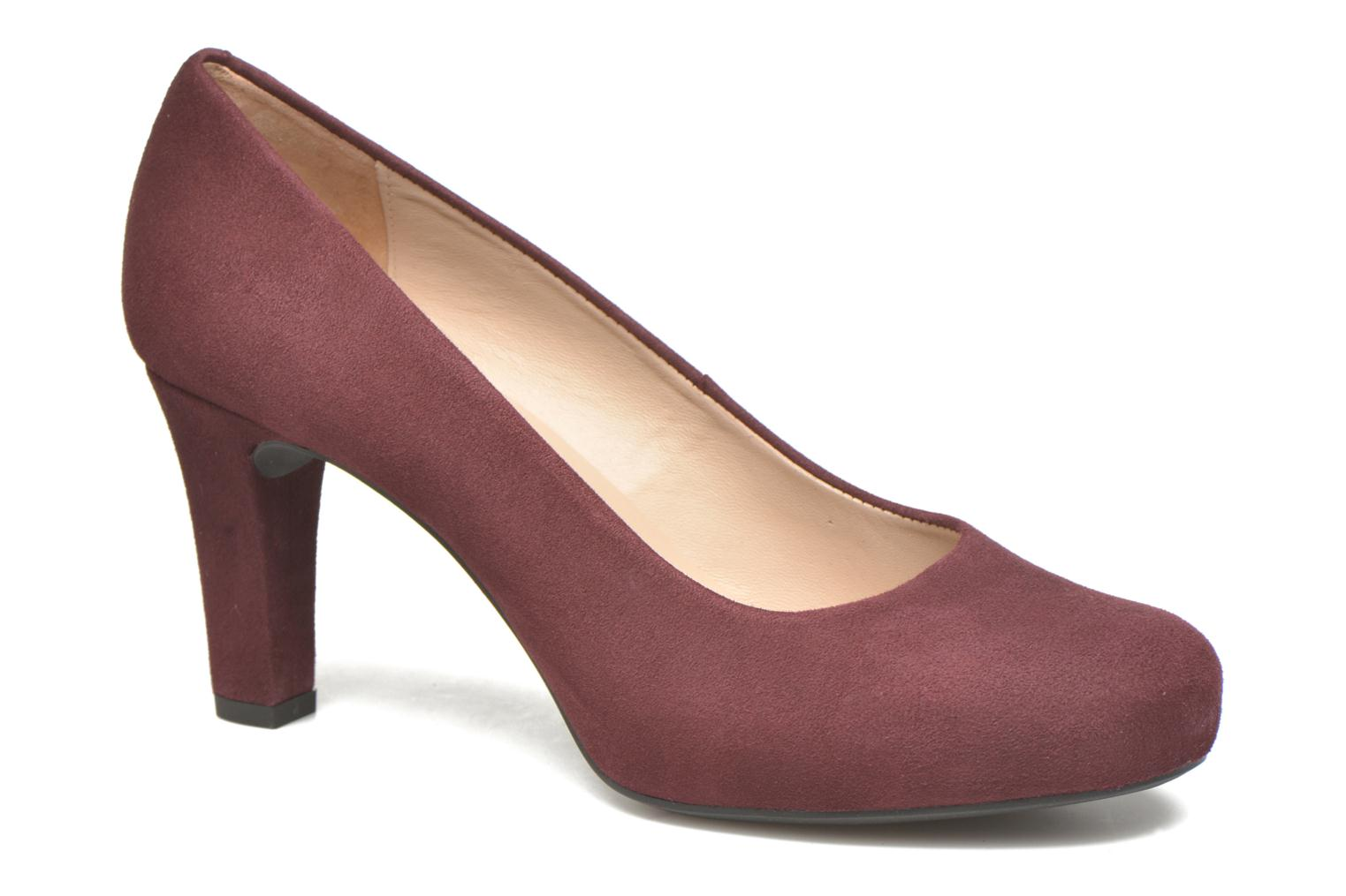 High heels Unisa Numis Burgundy detailed view/ Pair view