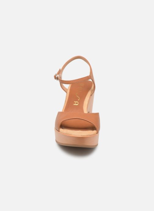 Sandalen Unisa Ontral braun schuhe getragen
