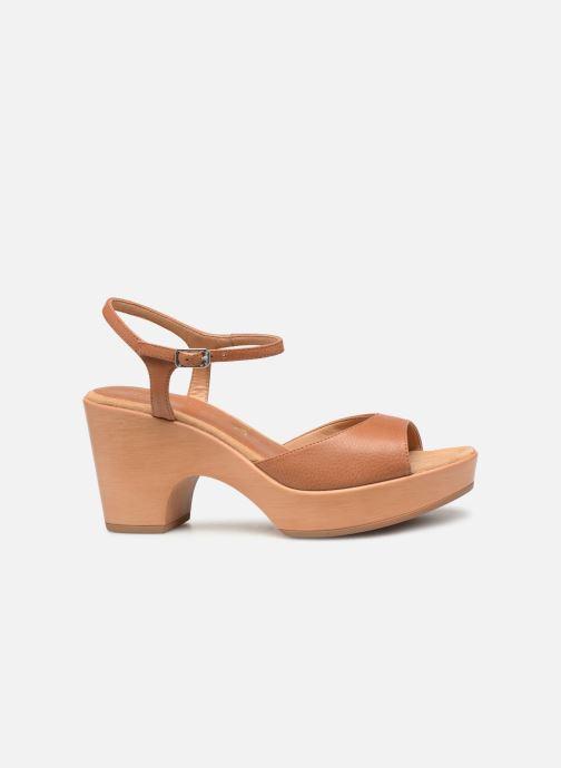 Sandales et nu-pieds Unisa Ontral Marron vue derrière