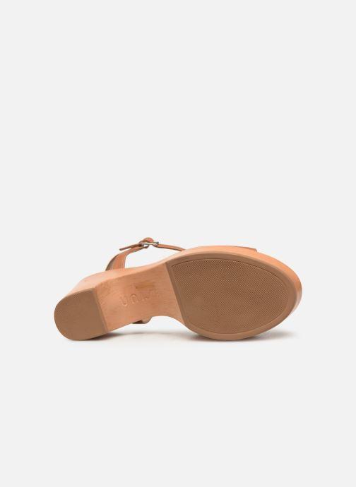 Sandales et nu-pieds Unisa Ontral Marron vue haut