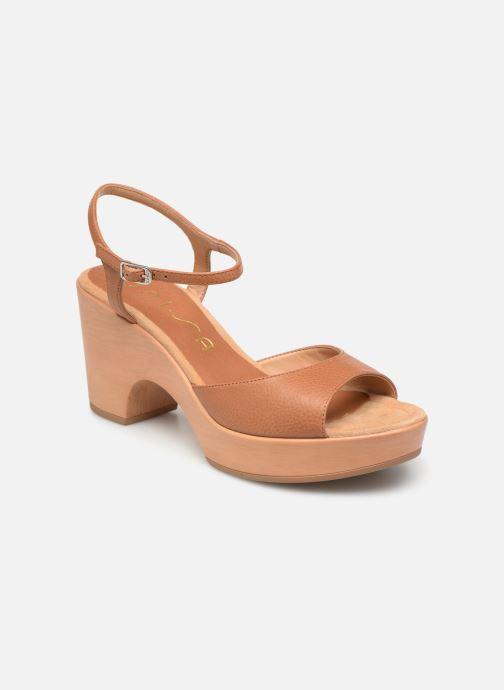 Sandales et nu-pieds Unisa Ontral Marron vue détail/paire