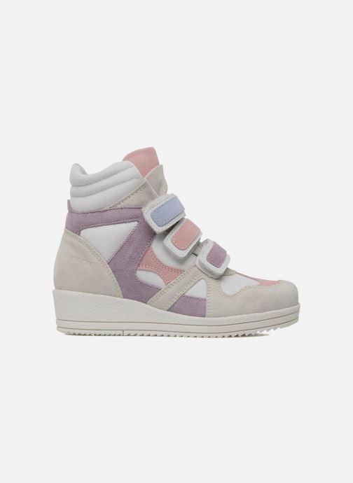 Sneakers Ninette en fleurs 7010 Wit achterkant