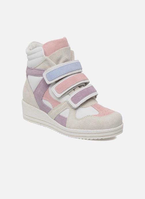 Sneakers Ninette en fleurs 7010 Wit detail