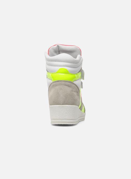 Sneakers Ninette en fleurs 7010 Multicolor rechts