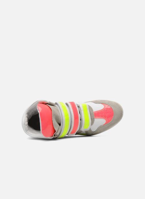 Baskets Ninette en fleurs 7010 Multicolore vue gauche