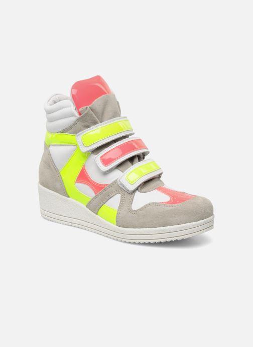Sneakers Ninette en fleurs 7010 Multi detaljeret billede af skoene