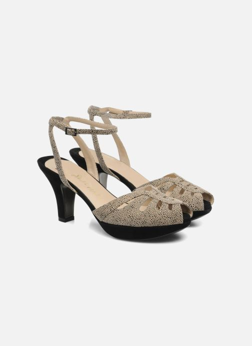 Sandals Ernesto Esposito Kira Beige 3/4 view