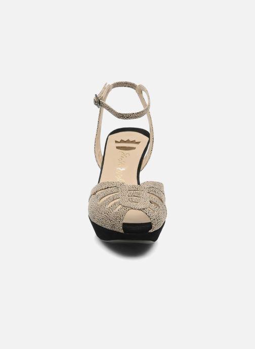 Sandals Ernesto Esposito Kira Beige model view