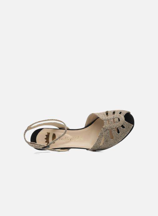 Sandals Ernesto Esposito Kira Beige view from the left