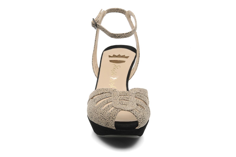 Sandales et nu-pieds Ernesto Esposito Kira Beige vue portées chaussures