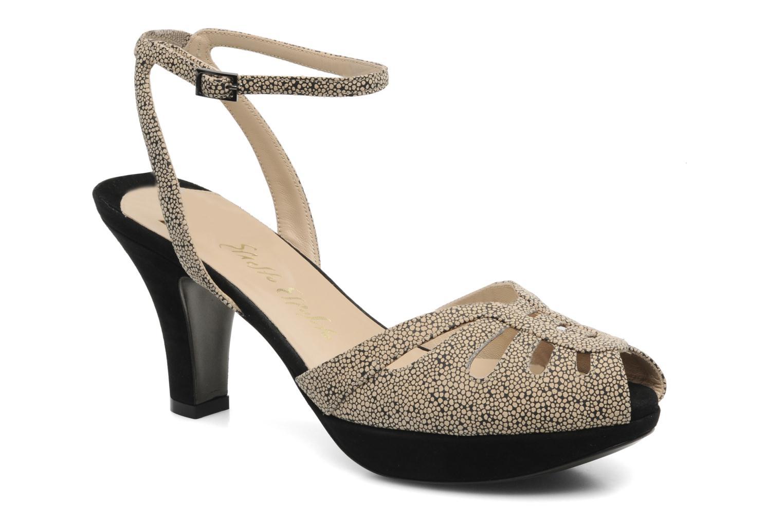 Sandales et nu-pieds Ernesto Esposito Kira Beige vue détail/paire