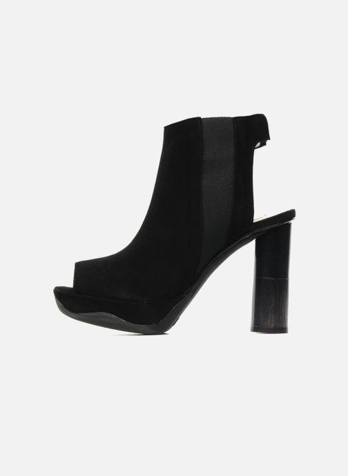 Sandales et nu-pieds B Store Anne 14 Noir vue face