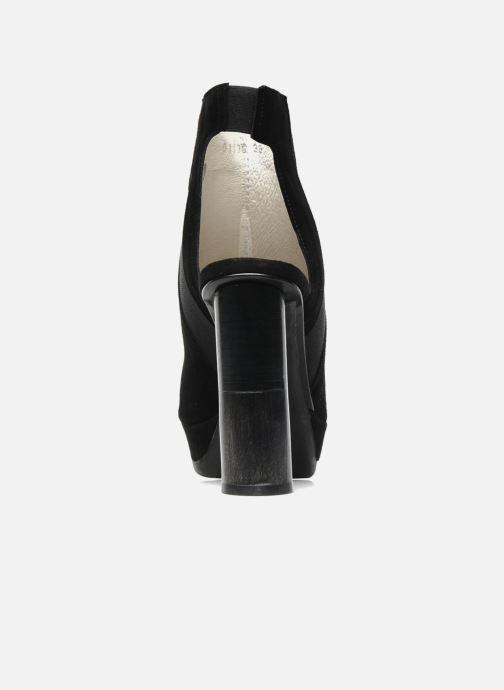Sandales et nu-pieds B Store Anne 14 Noir vue droite