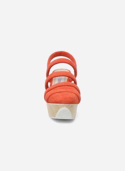Sandales et nu-pieds B Store Edwige 6 Orange vue portées chaussures
