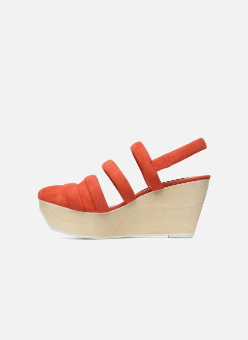 Sandals B Store Edwige 6 Orange front view