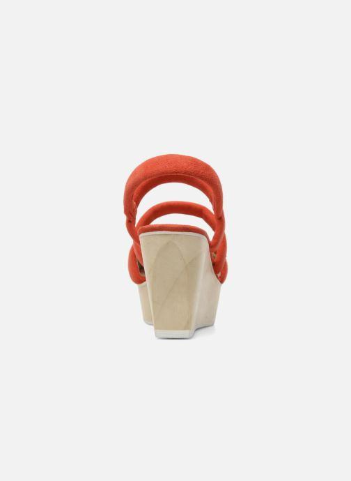 Sandalen B Store Edwige 6 Oranje rechts
