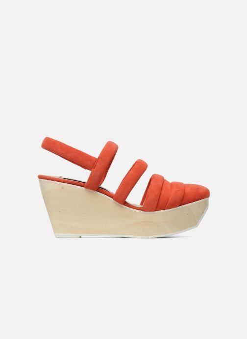 Sandales et nu-pieds B Store Edwige 6 Orange vue derrière
