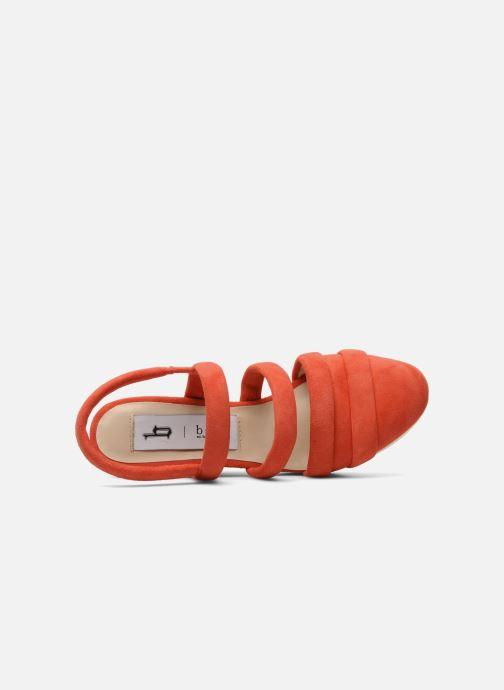 Sandalen B Store Edwige 6 Oranje links