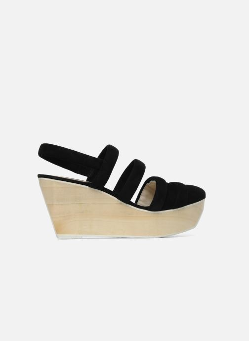Sandalen B Store Edwige 6 Zwart achterkant