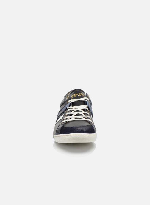 Baskets Pantofola d'Oro Pesaro piceno low Bleu vue portées chaussures