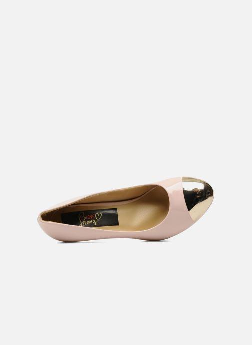 Escarpins I Love Shoes Phofolle Rose vue gauche