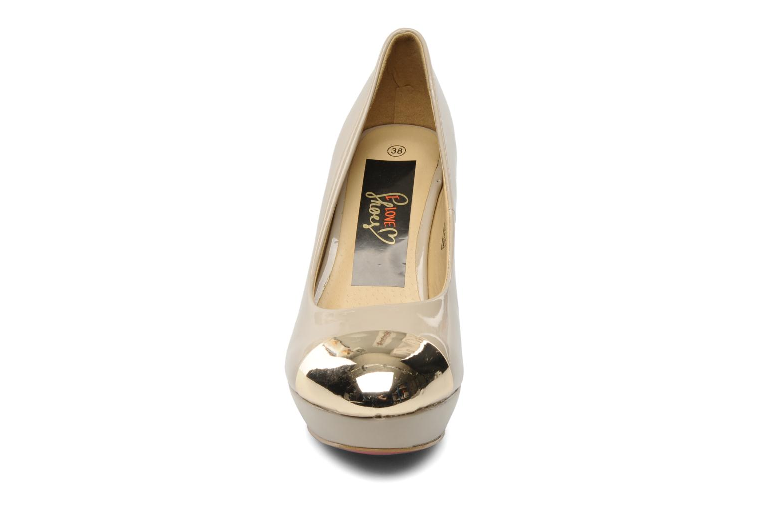 High heels I Love Shoes Phofolle Beige model view