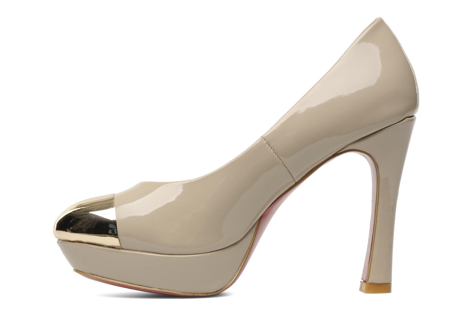 High heels I Love Shoes Phofolle Beige front view