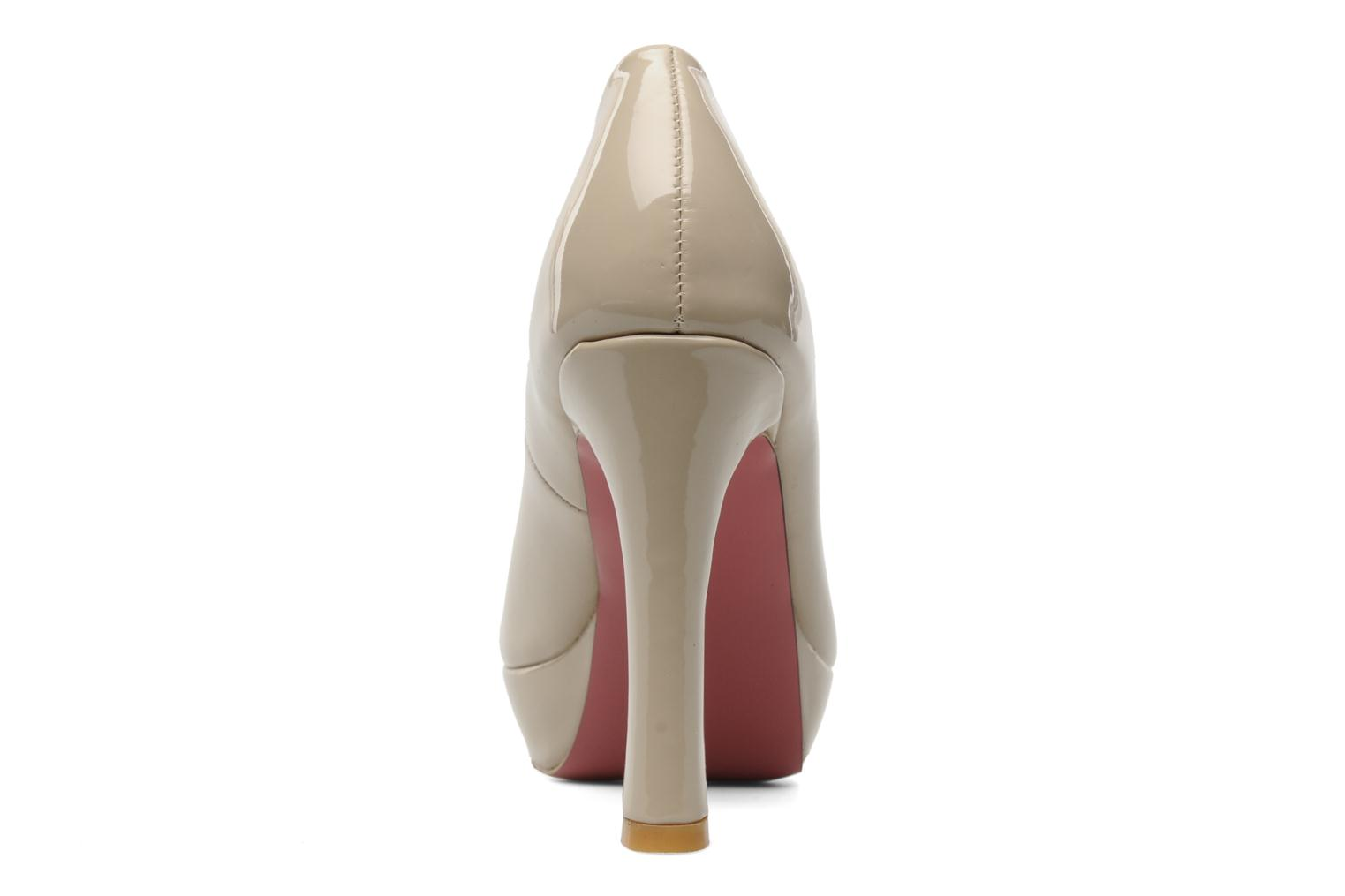 High heels I Love Shoes Phofolle Beige view from the right