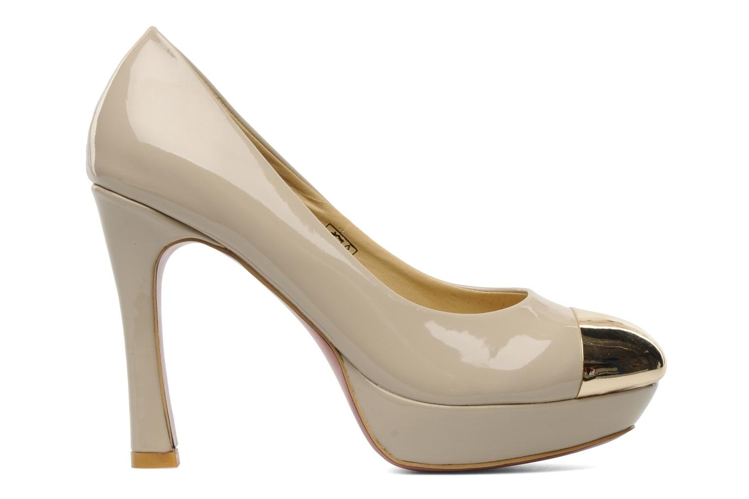 High heels I Love Shoes Phofolle Beige back view